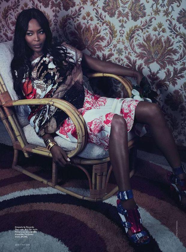 Naomi Campbell Vogue