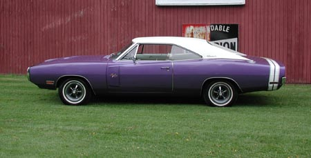 1970 Plum Crazy Charger R/T