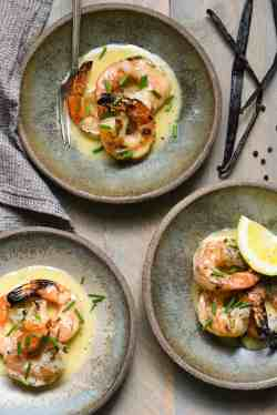 Gorgeous Vanilla Beurre Blanc Let French Nameintimidate Grilled Shrimp Grilled Shrimp Scallops Vanilla Beurre Blanc Foxes Love Lemons How Long To Grill Shrimp On George Foreman How Long To Grill Shrim