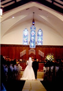 Long Shot of Wedding
