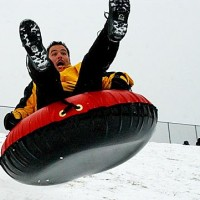 """<A href=""""mailto:ajansen@yourjournal.com"""">Andrew Jansen</A> photo/ Steven King, Arnold, gets some air on the hill at Fox High School Tuesday as a winter storm blanketed fresh snow on Jefferson County."""