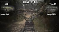 [MW3] 最強の武器はどっち?ACR vs Type95  4:41