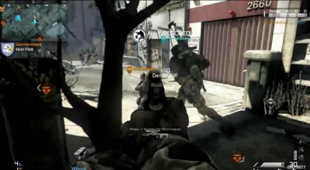 Screenshot 19 630x346 CoD:ゴースト:マルチプレイヤー詳細やトレイラー公開!新武器、ストリーク、女性兵士など News CoD:Ghosts