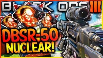 CoD:BO3:新武器5種のプレイ映像が早速登場、DBSR-50ではニュークも