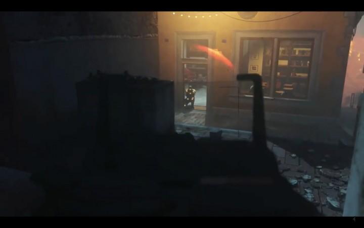動画の中では、ショットガンのペレット弾を操作して弾道を変えているようなシーンも登場。恐らくカスタマイズ要素とされているサイトの効果だと思われる。