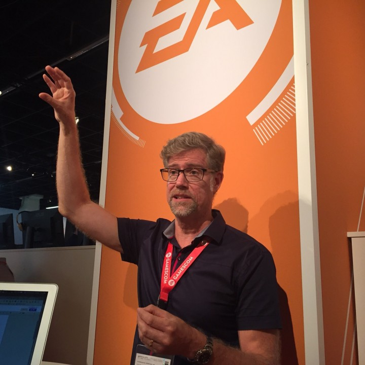 DICEのデザインディレクターであるラース・グスタブソン氏