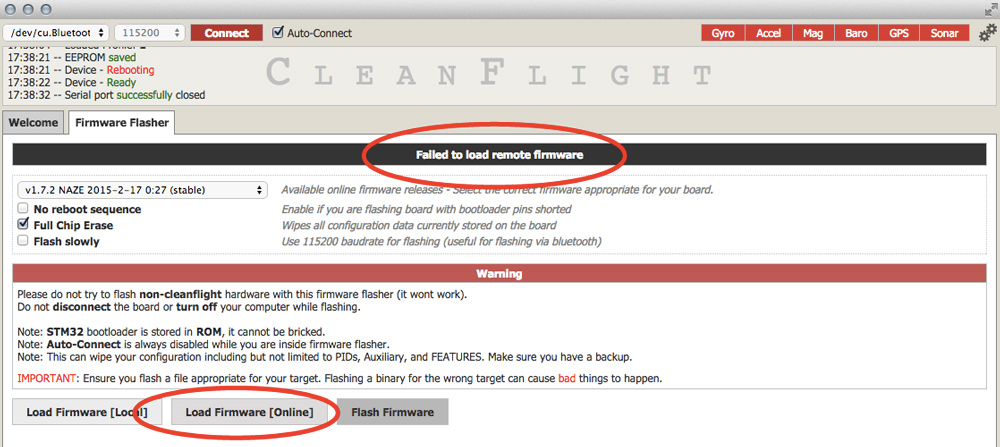cleanflight files