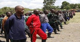 Photo des rebelles rwandais FDLR, a l'Est de la RDC.