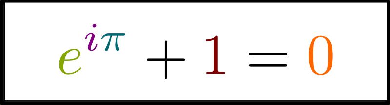Euler Identity