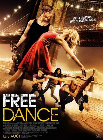 FREE DANCE : Affiche