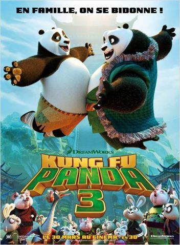 Kung Fu Panda 3 : Affiche