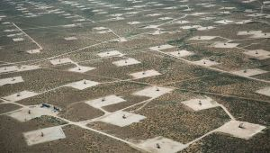 Fracking Well Pads USA by Julia Dermansky
