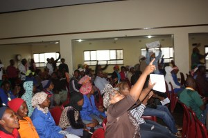 Angry Audience in Melmoth