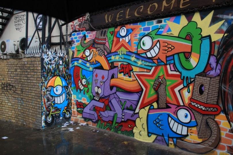 street art - Londres, UK graffiti