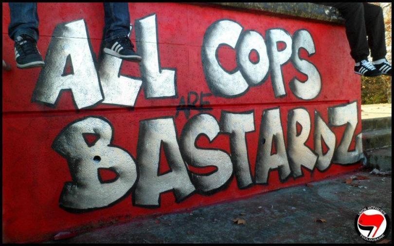UAT Graffiti crew - ACAB