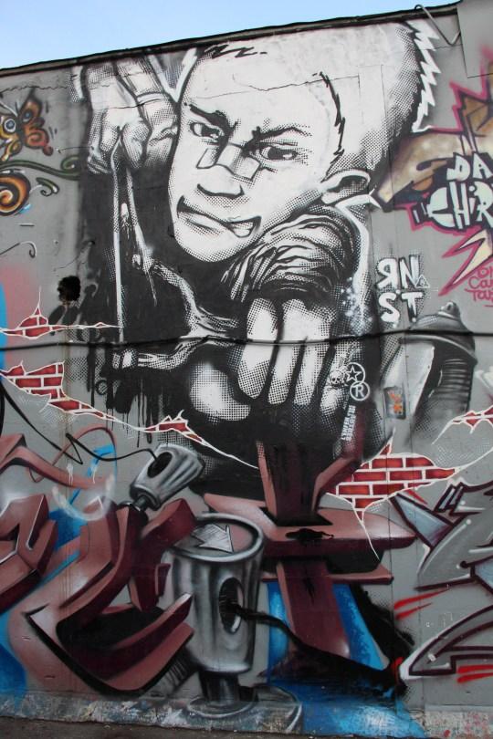 graffiti Dijon RNST