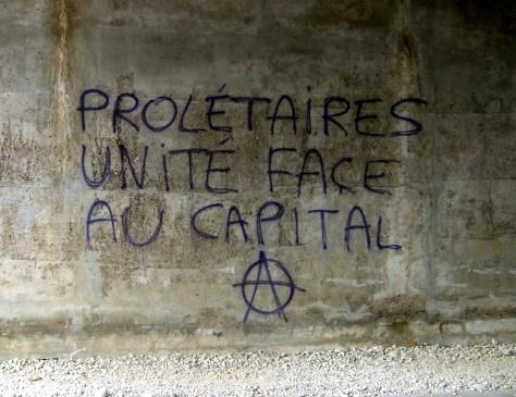 proletaire, unité face au capital, besancon, planoise 2012