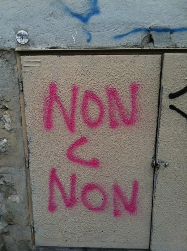 Marseille_non c'est non _tag nov2012