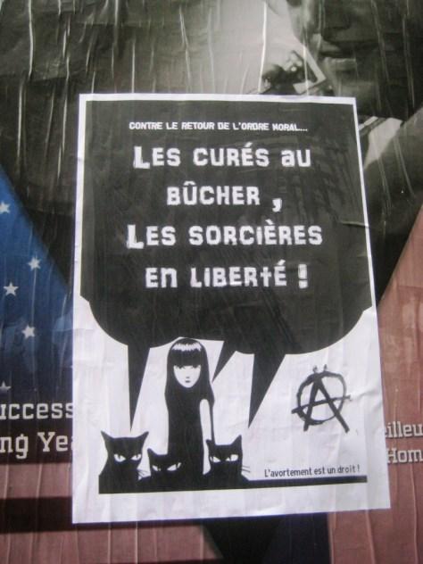 besancon.nov2013 les cures au bucher les sorcieres en liberte-affiche
