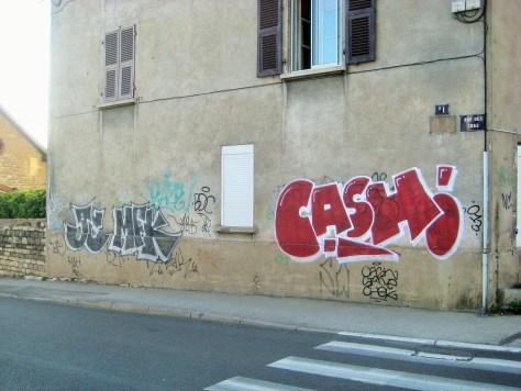 JC, MFK, Cash - graffiti - besancon, 04.2014