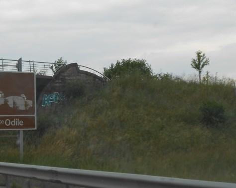 acab - graffiti - alsace - juin 2014