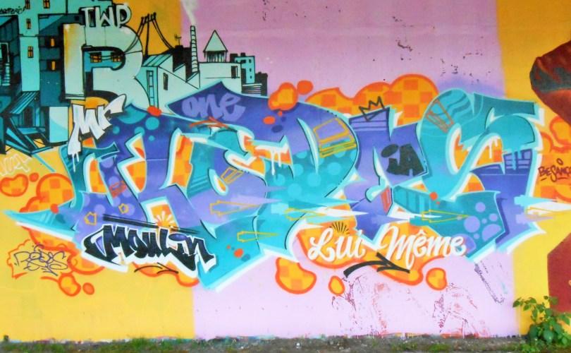 besancon, jam graffiti octobre 2014 RODES