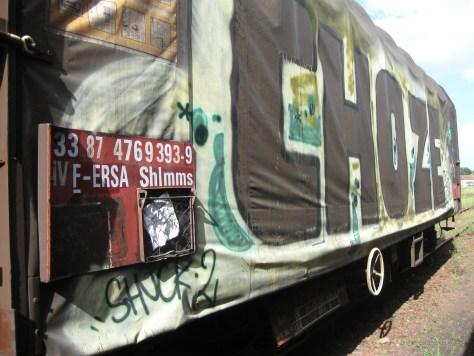 graffiti Rennes Aout 2012 Choze