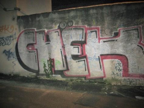 CHEK - graffiti- besancon - 12.2014
