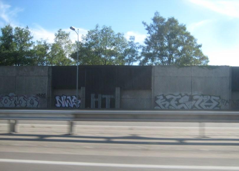 Roma; NWS, HT, Kesta - Graffiti - Mulhouse, Sept 2014