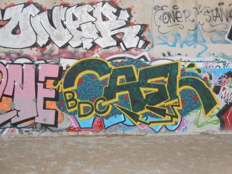 CASH BDC graffiti besanocn mars 2015
