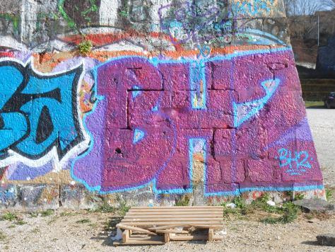 BHZ besancon graffiti mars 2015