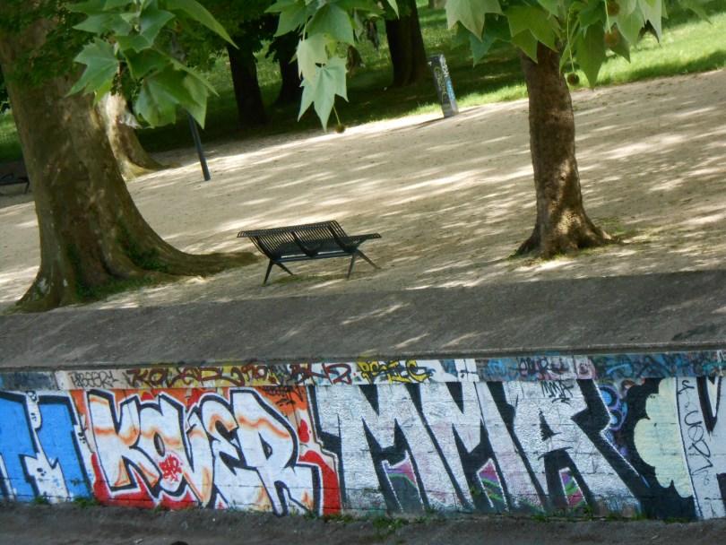 Kover, MMA - graffiti - skatepark, besancon 2015