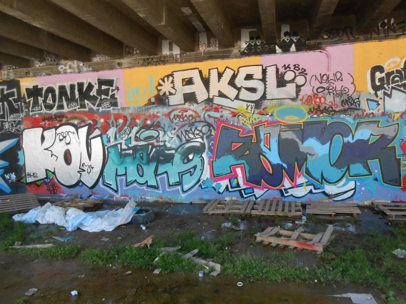 besancon graffiti avril 2015 KOVR, MARS RAMOR