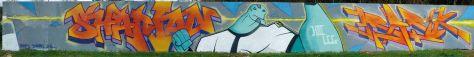 shaman, basik - graffiti montferrand 2014