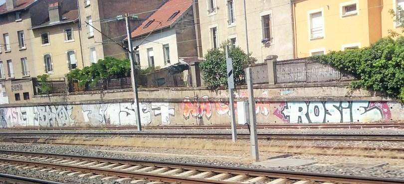1st, Bandi, 7 crew, Rosie, !na crew - graffiti - Lorraine
