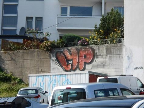 LYP - graffiti- Wuppertal, DE-2015