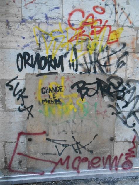 change le monde - pochoir - besancon 2015 (1)