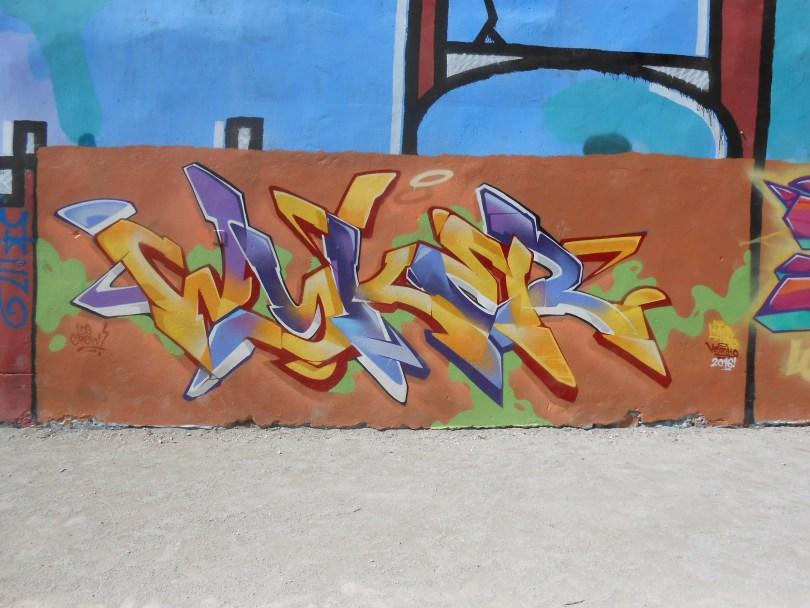 WYKER, BASIK - graffiti - besancon 2016 (2)