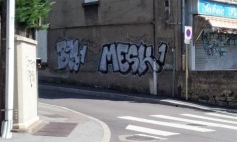 BEG1, MESK1 - graffiti besancon 2016