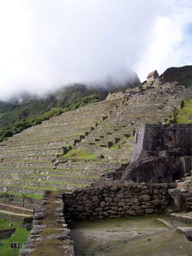 Agricultural Zone at Machu Picchu, Urubamba Province, Peru