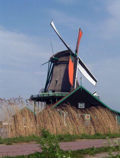 Zaanse Schans windmill ,Holland