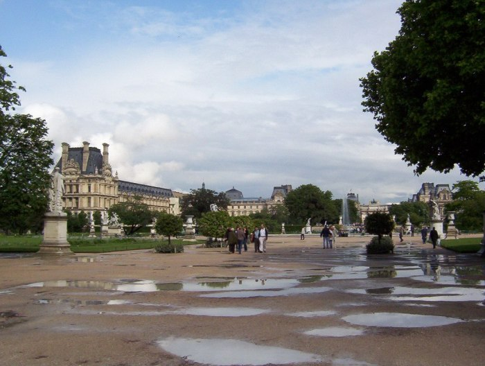 Jardin Des Tuileries - Paris - France