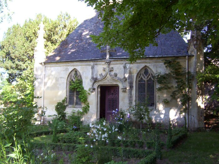 Chapel - Chateau de la Bourdaisiere Castle - France