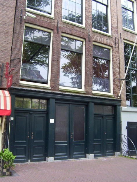 263 Prinsengracht, anne frank home, amsterdam
