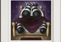 Peter Smith Four in a Bed (Giclee) 2