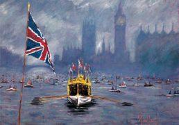 Timmy Mallett Jubilee Barge
