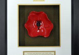 Wales-Guards-Ceramic-Framed-Poppy