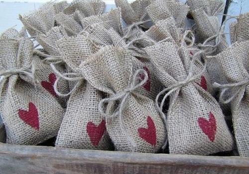 Saquitos de arroz para bodas
