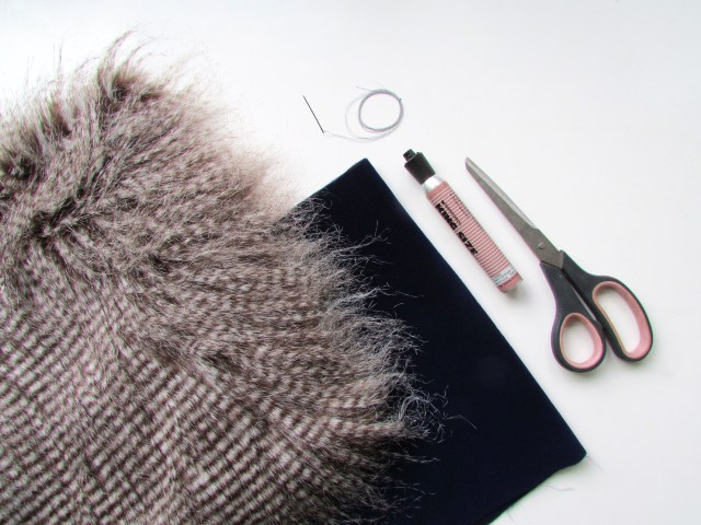 faux fur collar materials