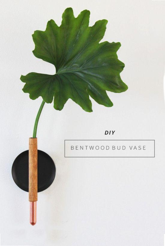 DIY Copper Bud Vase via Annabode   Francois et Moi